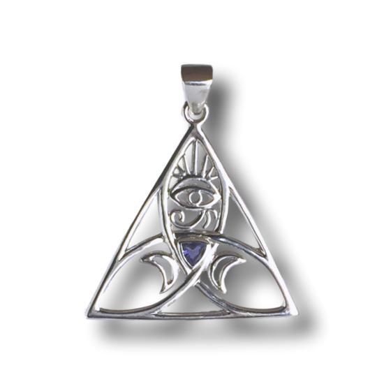 Iolite Sacred Power Necklace