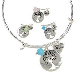 Tree of Life Bangle Bracelet