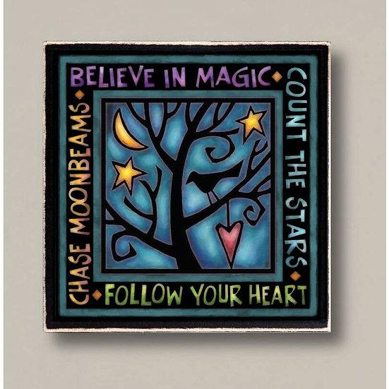 Believe in Magic Plaque