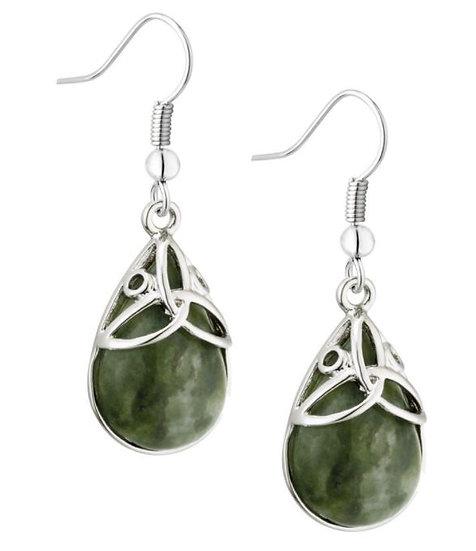 Connemara Oval Drop Earrings