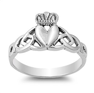 Claddagh & Trinity Ring