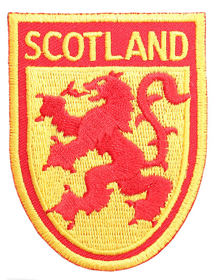Scotland Rampant Lion Patch