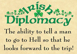 Irish Diplomacy Magnet