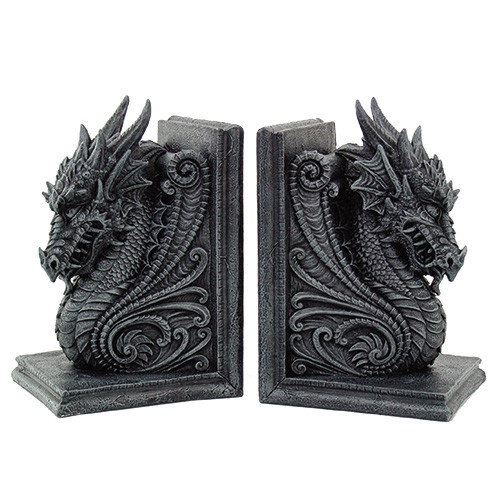 Dragon Bookends Set