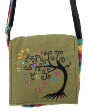 Colorful Tree Crossbody Bag