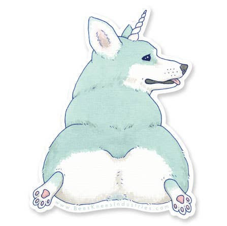 Magical Dog Stickers