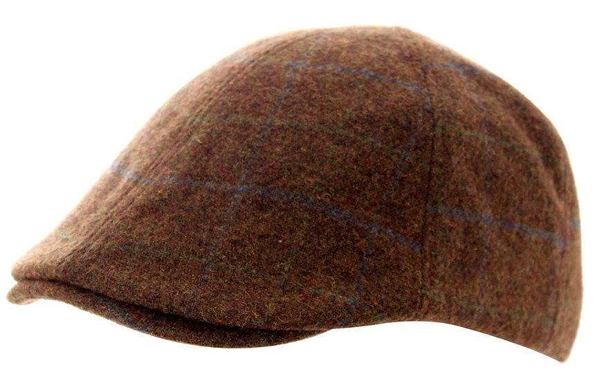 Tweed Hat, Brown