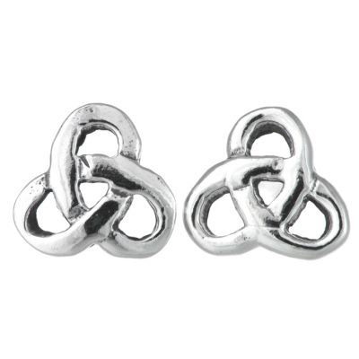 Trinity Rounded Earrings
