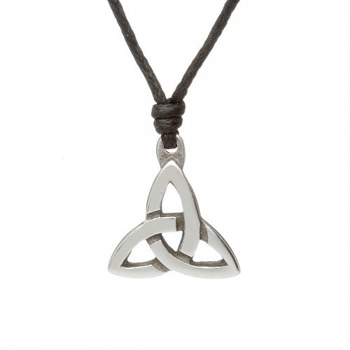 Pewter Trinity Necklace