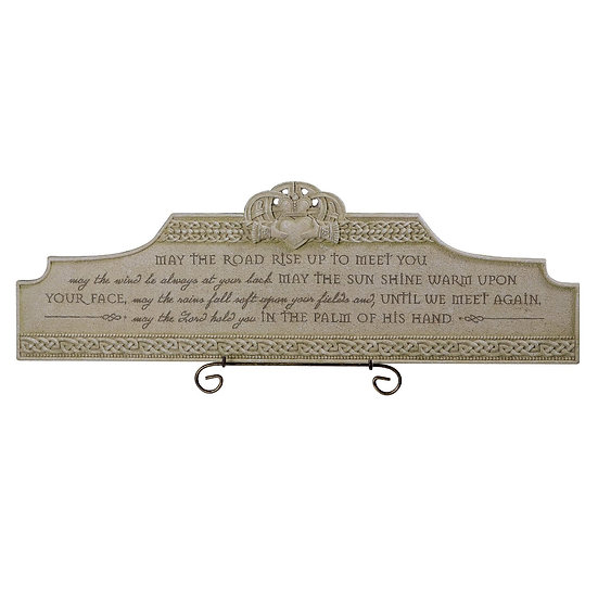 May Road Rise to Meet you Plaque