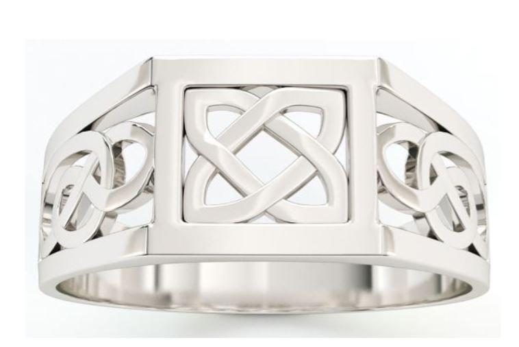 Celtic Knot Signet Ring