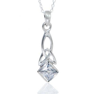 CZ Trinity Necklace