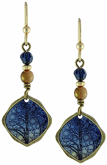 Sunset Tree of Life Earring Set