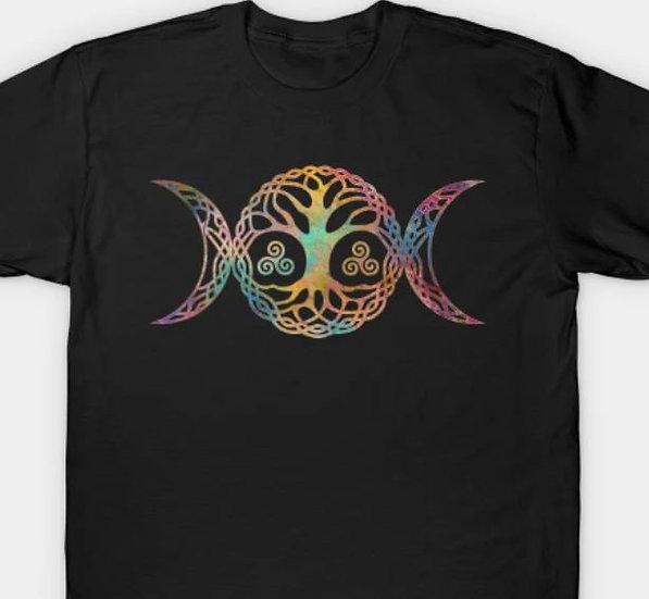 Triple Moon Tree T-shirt