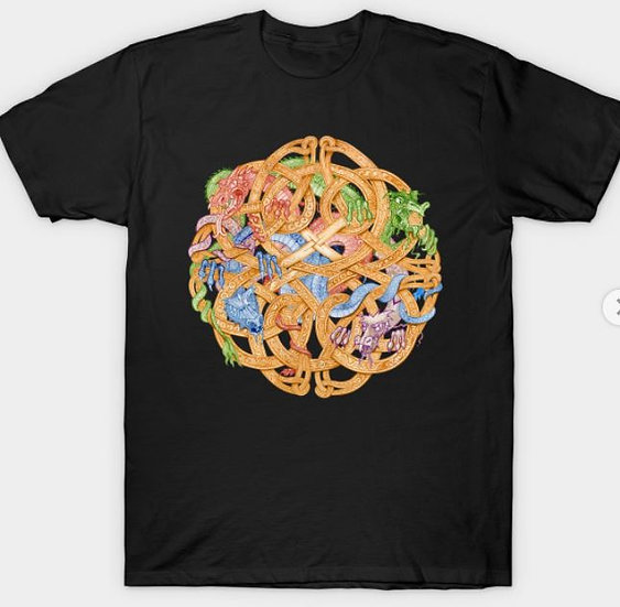 Knot Dragon T-shirt