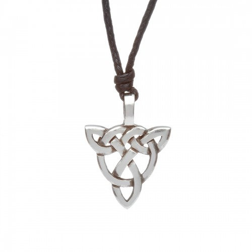Pewter Trinity 4 Necklace