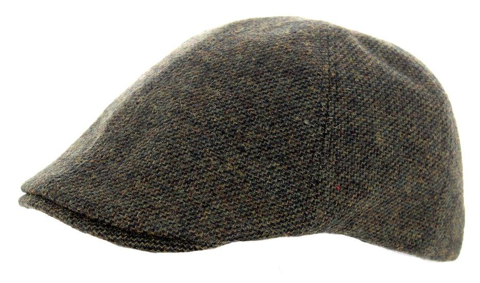 Tweed Hat, Dk Green