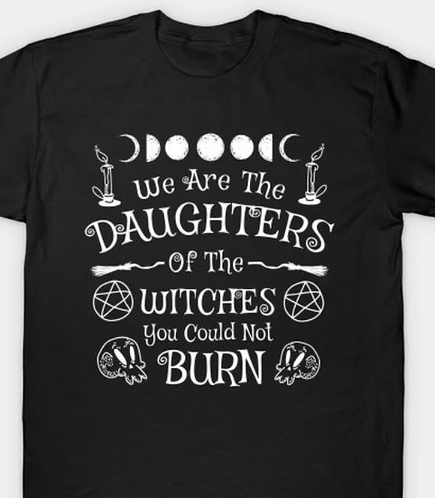 Daughters of Witches T-shirt