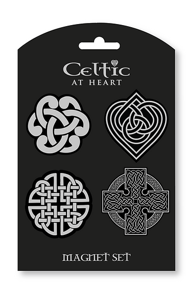 Celtic Cross 4Pack Magnets