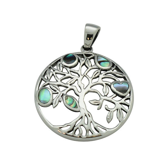 Tree of Life with Abalone Pendant