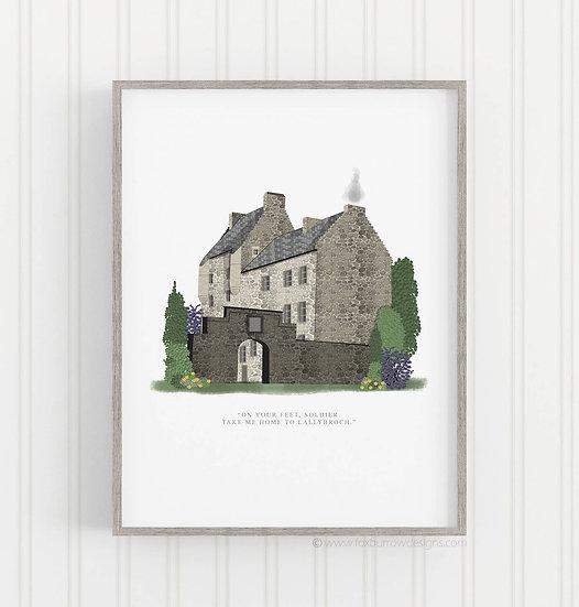 Lallybroch Print (Outlander)