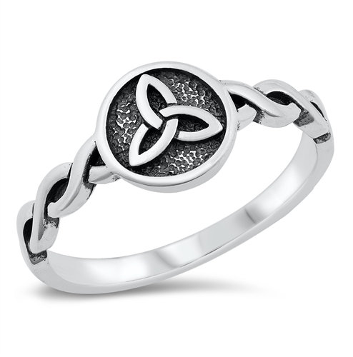 Trinity Braid Band Ring