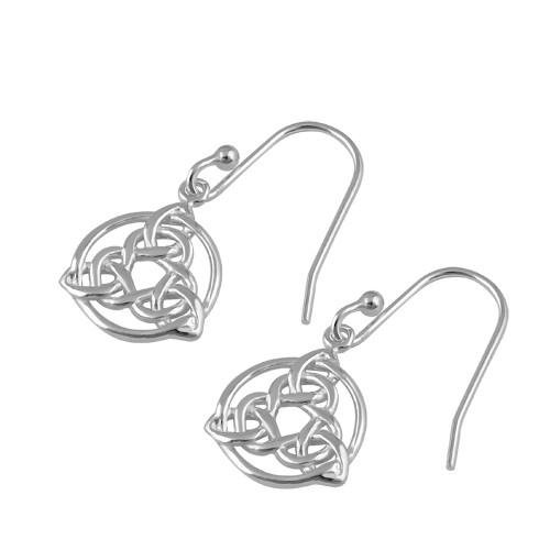 Knotted Trinity Earrings