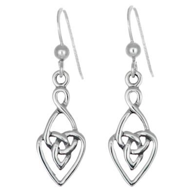 Trinity Love Knot Earrings