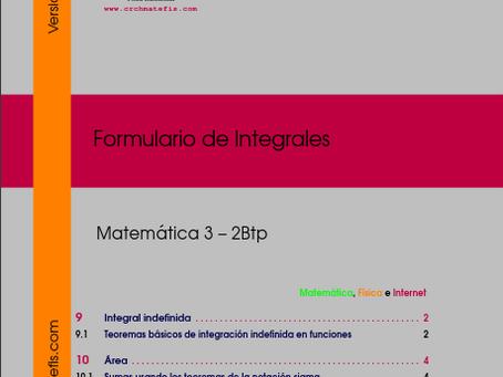 Disponible para decarga: Formulario 4 para  Mat3