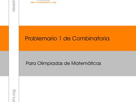 Problemario 1 de Combinatoria para Olimpiadas de Matemáticas