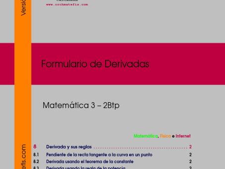 Disponible para decarga: Formulario 3 para  Mat3