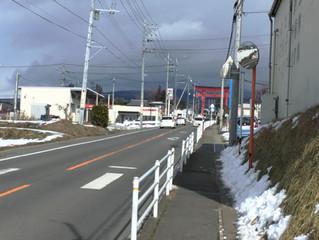 遠く富士を眺めて