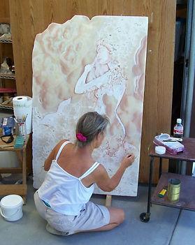 Elizabeth painting mermaid (2).jpg