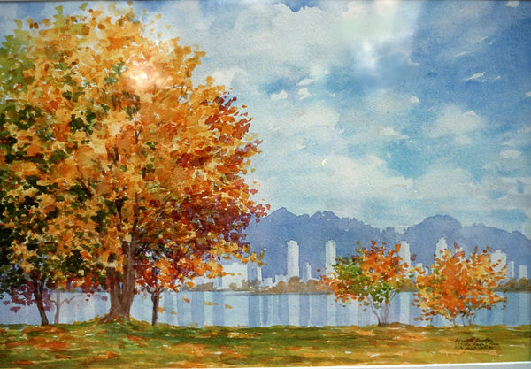 City Golds, from Kit's Point, 15x22 Van