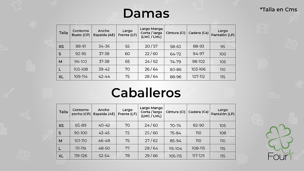tabla medidas Four.png