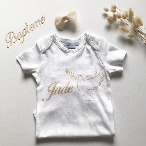T-shirt baptême