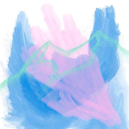 Blue Horizons (Digital Print - Matted)