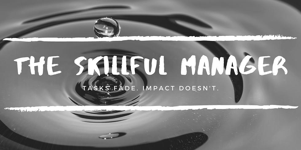 The Skillful Manager Webinar (Dec)