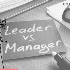 Leaders vs. Managers: YES, PLEASE.