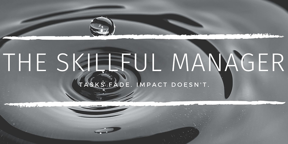 The Skillful Manager Webinar