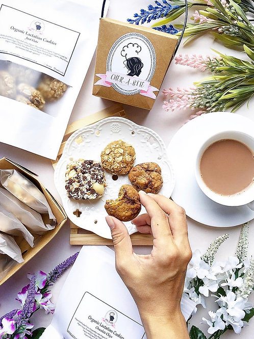 Organic Lactation Cookies in Assorted Flavours