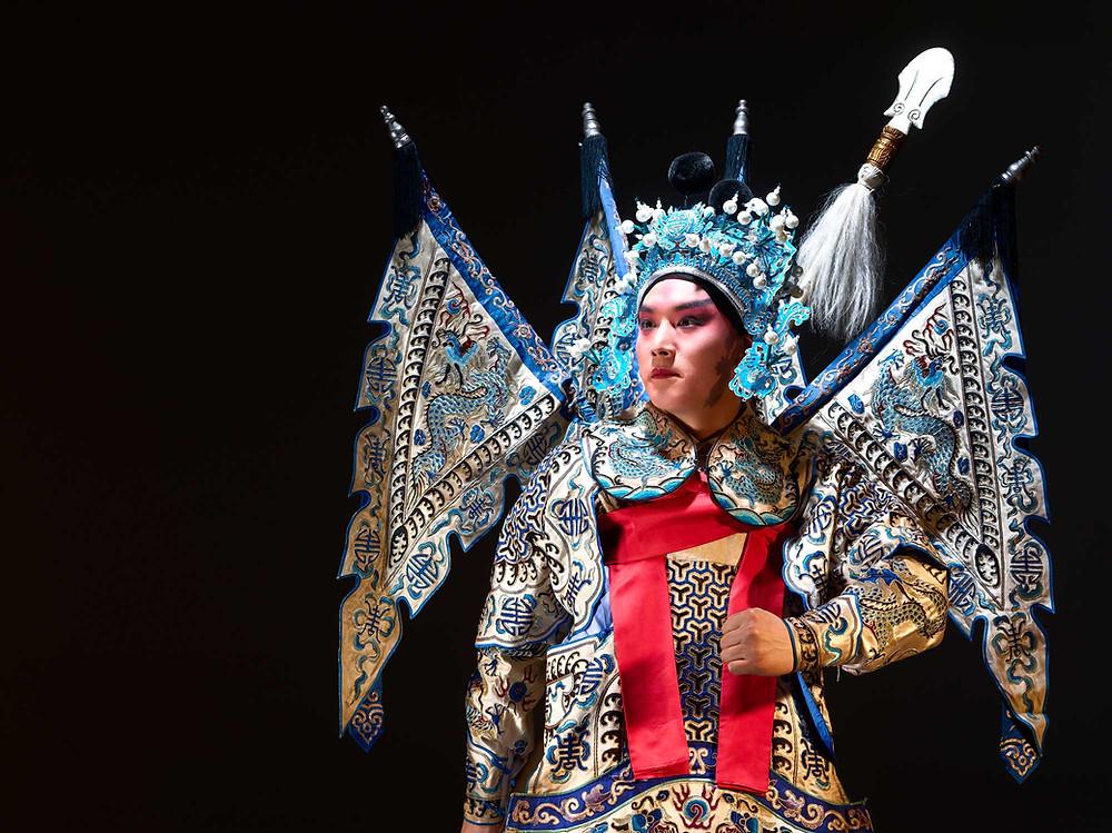 a chinese peking opera performer