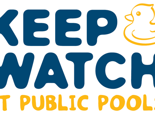 Keep Watch Message highlighted with a  4 y.o. non fatal drowning