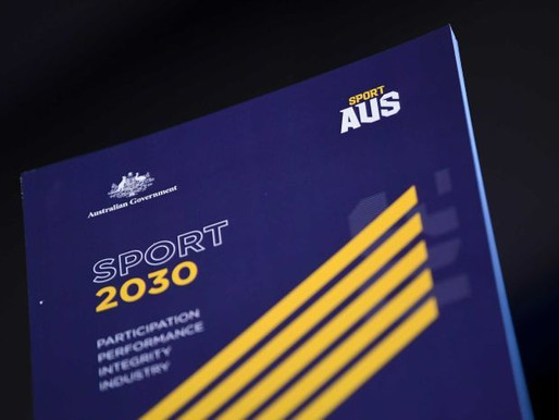 NEW NATIONAL SPORT PLAN LAUNCHED TO GET MORE AUSSIES ACTIVE