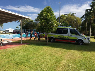 CPR performed on swimmer at North Mackay pool