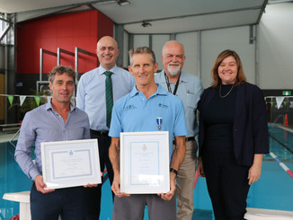 ROYAL LIFE SAVING RECOGNISES A LIFE DEDICATED TO WATER SAFETY