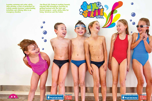 Swim and Survive Presentation Folder