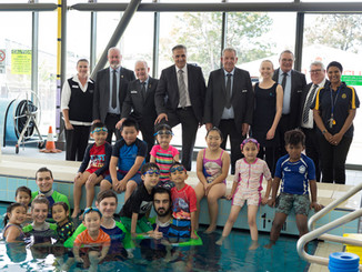 KIDS IN WESTERN SYDNEY LEARN TO SWIM AND SURVIVE THANKS TO THEIR LOCAL DIGGERS CLUB