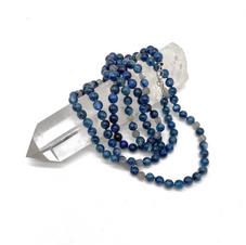 Kyanite and Labradorite Long Necklace