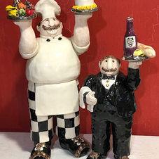 Chef & Waiter